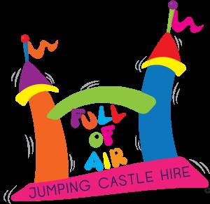 Full of Air Jumping Castles