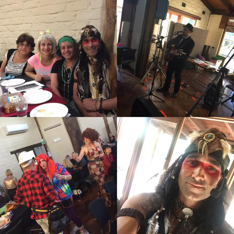 Collage of pictures from a Fund raiser for Josh 2019, Melbourne Victoria